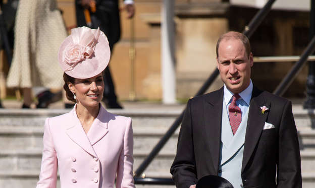 Slide 1 of 156: Britain's Prince William, Duke of Cambridge and Britain's Catherine, Duchess of Cambridge attend the Queen's Garden Party at Buckingham Palace in central London on May 21, 2019. (Photo by Dominic Lipinski / POOL / AFP) (Photo credit should read DOMINIC LIPINSKI/AFP/Getty Images)