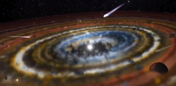 Scientists discover three exocomets orbiting nearby star