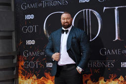NEW YORK, NY - APRIL 03:  Hafþor Julius Bjornsson attends the 'Game Of Thrones' season 8 premiere on April 3, 2019 in New York City.  (Photo by Mike Coppola/FilmMagic)
