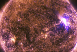 Scientists have found some wild matter flying around the sun's atmosphere