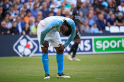 MARSEILLE, FRANCE - APRIL 13: Mario Balotelli during Olympique de Marseille v Nimes Olympique - Ligue 1 at Stade Velodrome on April 13, 2019 in Marseille, France. (Photo by Guillaume Ruoppolo - OM/OM via Getty Images)