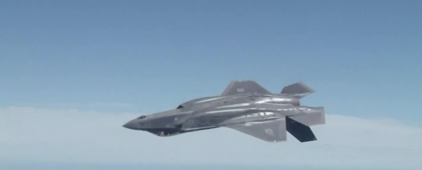 Inside search for stealth fighter that vanished
