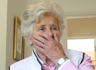 Grandma gets emotional over long lost wedding tape