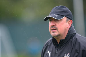 NEWCASTLE UPON TYNE, ENGLAND - MAY 08:  Newcastle United Manager Rafael Benitez  during the Newcastle United Training session at the Newcastle United Training Centre on May 08, 2019 in Newcastle upon Tyne, England. (Photo by Serena Taylor/Newcastle United)