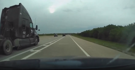 Dashcam video shows driver spin out on highway