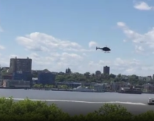 Helicopter plunges into NYC's Hudson River
