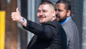 LOS ANGELES, CA - JUNE 04: Andy Ruiz Jr. is seen at 'Jimmy Kimmel Live' on June 04, 2019 in Los Angeles, California.  (Photo by RB/Bauer-Griffin/GC Images)