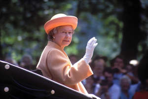 Queen Elizabeth II, 1990. (Photo by John Shelley Collection/Avalon/Getty Images)