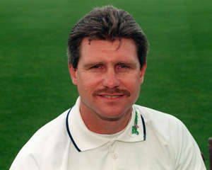 Robin Smith, a member of the Hampshire County Cricket Team.   (Photo by PA Images via Getty Images)