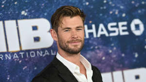 "Australian actor Chris Hemsworth attends the ""Men In Black: International"" premiere at AMC Lincoln Square on June 11, 2019 in New York City. (Photo by Angela Weiss / AFP)        (Photo credit should read ANGELA WEISS/AFP/Getty Images)"