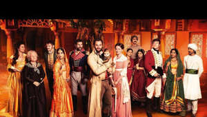 a group of people posing for a picture: Tom Bateman stars as the enigmatic John Beecham, a handsome former soldier who has purchased the mansion, Beecham House, to begin a new life with his family in 19th century Delhi.