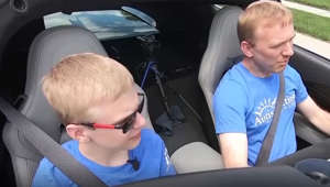 This Father-Son road trip is all for a good cause
