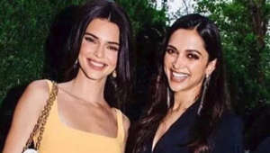 Deepika shares frame with Kendall