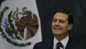 Mexico's President Enrique Pena Nieto speaks during a press conference at the Los Pinos presidential residence in Mexico City, Wednesday, Jan. 4, 2017. President Pena Nieto has brought back Luis Videgaray, a cabinet secretary and close adviser who resigned after arranging a meeting between Enrique Pena Nieto and then-presidential candidate Donald J. Trump, as Mexico's new Foreign Relations Secretary. (AP Photo/Marco Ugarte)