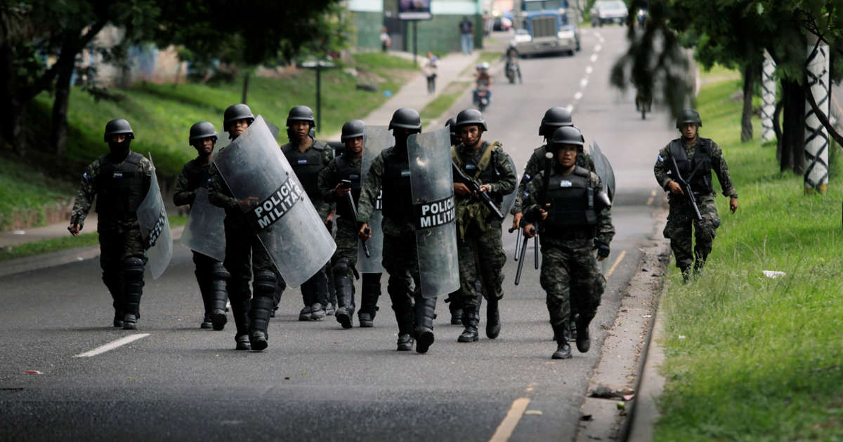 Honduran president sends military to keep order after protests turn