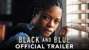 Naomie Harris making a funny face: Why should you have to choose? #NaomieHarris and #TyreseGibson star in #BlackAndBlueMovie - watch the trailer now.  https://www.blackandblue.movie/?hs308=youtube  Follow Us on Social: https://www.facebook.com/BlackAndBlueMovie https://twitter.com/BlackBlueMovie https://www.instagram.com/BlackAndBlueMovie  Subscribe to Sony Pictures for exclusive content: http://bit.ly/SonyPicsSubscribe  BLACK AND BLUE is a fast-paced action thriller about a rookie cop (Naomie Harris) who inadvertently captures the murder of a young drug dealer on her body cam. After realizing that the murder was committed by corrupt cops, she teams up with the one person from her community who is willing to help her (Tyrese Gibson) as she tries to escape both the criminals out for revenge and the police who are desperate to destroy the incriminating footage.  #BlackAndBlue #OfficialTrailer #Trailer #Sony #FrankGrillo #MikeColter #ReidScott #NafessaWilliams #Tyrese #BeauKnapp #DeonTaylor
