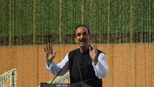 'Don't want New India': Ghulam Nabi's dig at BJP