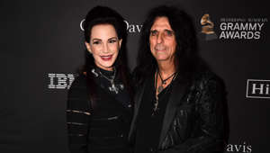BEVERLY HILLS, CA - FEBRUARY 09:  Sheryl Goddard (L) and Alice Cooper attend The Recording Academy And Clive Davis' 2019 Pre-GRAMMY Gala at The Beverly Hilton Hotel on February 9, 2019 in Beverly Hills, California.  (Photo by Jeff Kravitz/FilmMagic)