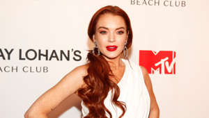 "Lindsay Lohan attends MTV's ""Lindsay Lohan's Beach Club"" series premiere party at Magic Hour Rooftop at The Moxy Times Square on Monday, Jan. 7, 2019, in New York. (Photo by Andy Kropa/Invision/AP)"