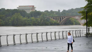 Washington D.C. area gets hit with a major flood