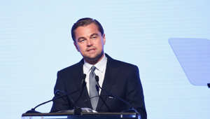 SANTA ROSA, CA - SEPTEMBER 15:  Leonardo DiCaprio speaks onstage at the Leonardo DiCaprio Foundation Gala at Jackson Park Ranch on September 15, 2018 in Santa Rosa, California.  (Photo by Tommaso Boddi/Getty Images for Leonardo DiCaprio Foundation)