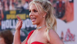 "Britney Spears poses at the premiere of ""Once Upon a Time In Hollywood"" in Los Angeles, California, U.S., July 22, 2019. REUTERS/Mario Anzuoni"