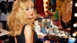 Dolly Buster poses in June, 1999 in Munich, Germany. (Photo by Gisela Schober/Getty Images)