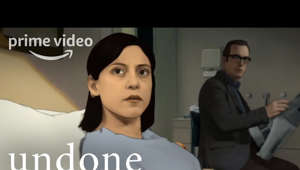 Are we stuck in a loop or is there more to life? Watch the official trailer for Undone, a genre-bending animated series starring Rosa Salazar and Bob Odenkirk. Undone premieres September 13, 2019.   » Watch Undone 9/13 exclusively with your Prime membership: http://bit.ly/PrimeVideoUndoneS1 » SUBSCRIBE: http://bit.ly/PrimeVideoSubscribe   About Undone: UNDONE is a half-hour, genre-bending, animated series that explores the elastic nature of reality through its central character Alma, a twenty-eight-year-old living in San Antonio, Texas. After getting into a car accident and nearly dying, Alma finds she has a new relationship to time. She develops this new ability in order to find out the truth about her father's death.  About Prime Video: Want to watch it now? We've got it. This week's newest movies, last night's TV shows, classic favorites, and more are available to stream instantly, plus all your videos are stored in Your Video Library. Over 150,000 movies and TV episodes, including thousands for Amazon Prime members at no additional cost.   Get More Prime Video:  Stream Now: http://bit.ly/WatchMorePrimeVideo Facebook: http://bit.ly/PrimeVideoFB Twitter: http://bit.ly/PrimeVideoTW Instagram: http://bit.ly/PrimeVideoIG   Undone - Official Trailer | Prime Video https://youtu.be/6uWCNHQgfnc   Prime Video https://www.youtube.com/PrimeVideo