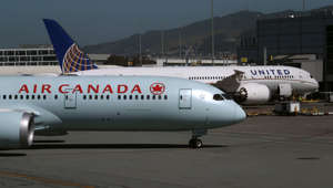 SAN FRANCISCO, CALIFORNIA - APRIL 24: An Air Canada Boeing 787 Dreamliner taxis to the terminal at San Francisco International Airport on April 24, 2019 in San Francisco, California. Boeing's first quarter profits fell 21 percent following the Boeing 737 Max technical issues that have grounded all of the Max aircraft around the world. Two Boeing 737 Max 8 aircraft crashed in a six months period. (Photo by Justin Sullivan/Getty Images)