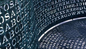 This mysterious CIA sculpture has stumped code breakers for 30 years