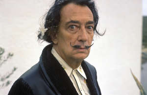 Salvador Dali. (Photo by GAMMA/Gamma-Rapho via Getty Images)