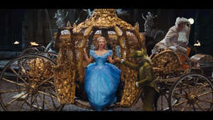 "Cinderella (2015) In-Home Release Date: September 15, 2015  On Blu-ray: http://di.sn/6004BHU1A, Digital HD & Disney Movies Anywhere: http://di.sn/6005BHUHP  A new Frozen short, Frozen Fever, featuring all of your favorite characters and a brand new song, will play in theatres with Cinderella beginning March 13!  The story of ""Cinderella"" follows the fortunes of young Ella (Lily James) whose merchant father remarries following the death of her mother. Eager to support her loving father, Ella welcomes her new stepmother (Cate Blanchett) and her daughters Anastasia (Holliday Grainger) and Drisella (Sophie McShera) into the family home. But, when Ella's father unexpectedly passes away, she finds herself at the mercy of a jealous and cruel new family. Finally relegated to nothing more than a servant girl covered in ashes, and spitefully renamed Cinderella, Ella could easily begin to lose hope. Yet, despite the cruelty inflicted upon her, Ella is determined to honor her mother's dying words and to ""have courage and be kind."" She will not give in to despair nor despise those who mistreat her. And then there is the dashing stranger she meets in the woods. Unaware that he is really a prince, not merely an apprentice at the Palace, Ella finally feels she has met a kindred soul. It appears her fortunes may be about to change when the Palace sends out an open invitation for all maidens to attend a ball, raising Ella's hopes of once again encountering the charming Kit (Richard Madden). Alas, her stepmother forbids her to attend and callously rips apart her dress. But, as in all good fairy tales, help is at hand, and a kindly beggar woman (Helena Bonham-Carter) steps forward and -- armed with a pumpkin and a few mice -- changes Cinderella's life forever.   Website: http://www.disney.com/Cinderella Facebook: http://www.facebook.com/Cinderella Instagram: http://instagram.com/disneystudios Follow us on Twitter: https://twitter.com/DisneyPictures"