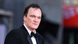 "US filmmaker Quentin Tarantino arrives for the premiere of Sony Pictures' ""Once Upon a Time... in Hollywood"" at the TCL Chinese Theatre in Hollywood, California on July 22, 2019."