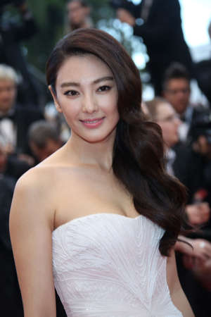Actress Zhang Yuqi attends the premiere of 'Inside Llewyn Davis' during the the 66th Cannes International Film Festival at Palais des Festivals in Cannes, France, on 19 May 2013. Photo: Hubert Boesl | usage worldwide   (Photo by Hubert Boesl/picture alliance via Getty Images)