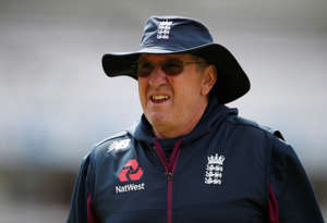 Cricket - England Nets - Lord's Cricket Ground, London, Britain - August 12, 2019   England head coach Trevor Bayliss during nets   Action Images via Reuters/Paul Childs