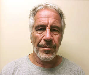 FILE - This March 28, 2017, file photo, provided by the New York State Sex Offender Registry shows Jeffrey Epstein.