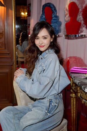 PARIS, FRANCE - FEBRUARY 28: Tiffany Tang Yan attends the Day Dream Vivier Press Day during Paris Fashion Week Womenswear Fall/Winter 2019/2020 at Fondation Cino et Simone del Duca on February 28, 2019 in Paris, France. (Photo by Victor Boyko/Getty Images For Roger Vivier)