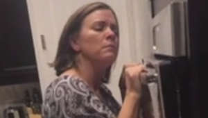 Embarrassing mom and her squeaky oven go viral to Usher's 'Yeah'