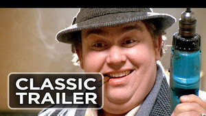 John Candy wearing a hat: Subscribe to TRAILERS: http://bit.ly/sxaw6h Subscribe to COMING SOON: http://bit.ly/H2vZUn Subscribe to CLASSIC TRAILERS: http://bit.ly/1u43jDe Like us on FACEBOOK: http://goo.gl/dHs73 Follow us on TWITTER: http://bit.ly/1ghOWmt Uncle Buck Official Trailer #1 - John Candy, Macaulay Culkin Movie (1989) HD  Uncle Buck Trailer - Directed by John Hughes and starring John Candy, Macaulay Culkin, Garrett M. Brown, Jay Underwood, Brian Tarantina. Uncle Buck has a reputation for being unreliable and a bit of a house wrecker. It is therefore with reluctance, his sister-in-law agrees to leave Buck looking after the kids (two harmless youngsters and a rebelious teenager) when she visits her sick father.  Universal - 1989