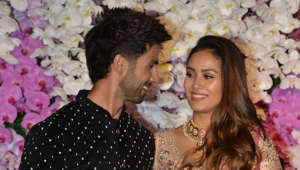Shahid Kapoor and Mira Rajput on a dinner date