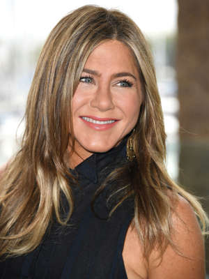 "FILE: Jennifer Aniston poses at the Photocall Of Netflix's ""Murder Mystery"" at Ritz Carlton Marina Del Rey on June 11, 2019 in Marina del Rey, California."
