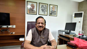 Harsh Vardhan's plan to improve health care facilities