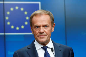 European Council President Donald Tusk attends a news conference after the European Union leaders summit, in Brussels, Belgium, July 2, 2019. REUTERS/Francois Lenoir