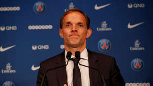 Soccer Football - Paris St Germain Introduce New Coach Thomas Tuchel - Parc des Princes, Paris, France - May 20, 2018   New Paris St Germain coach Thomas Tuchel    REUTERS/Philippe Wojazer