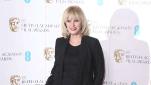 Actress Joanna Lumley poses for photographers during a photo call for the BAFTA Academy Film Awards Nominations in London, Tuesday, Jan 9, 2018. (Photo by Joel Ryan/Invision/AP)