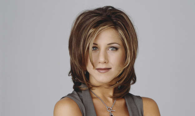 Slide 1 of 60: FRIENDS -- Pictured: Jennifer Aniston as Rachel Green (Photo by NBC/NBCU Photo Bank via Getty Images)