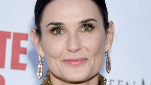 "HOLLYWOOD, CA - SEPTEMBER 18:  Demi Moore attends the LA Premiere Of Screen Media Film's ""Corporate Animals"" at NeueHouse Los Angeles on September 18, 2019 in Hollywood, California.  (Photo by Gregg DeGuire/Getty Images)"