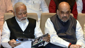 Congratulate PM's bravery & grit: Shah on Kashmir move