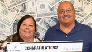 Lottery ticket hidden in car turns out to be $100,000 winner