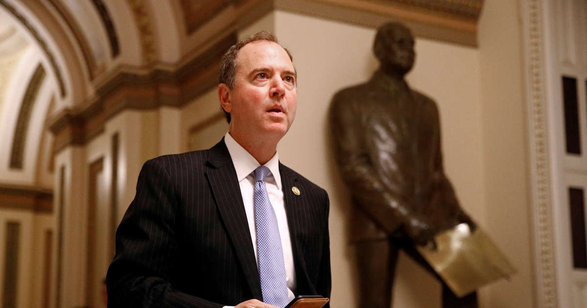 """Adam Schiff says DNI cited """"higher authority"""" in refusal to turn over whistleblower complaint"""